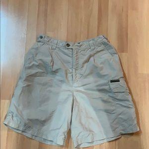 Women's size 8 Royal Robbins tan shorts